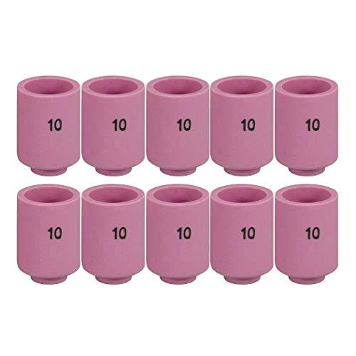 "13N09 #5 5//16/"" orifice TIG Ceramic Cups for PTA SR DB WP-9 20 25 TIG Torch 10PK"