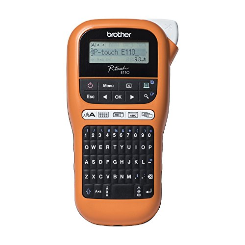 Brother PTE110VP Professioneller Elektronik-Marker für Elektriker und Installatoren