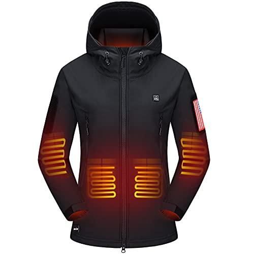 DEWBU Heated Jacket with Battery Pack...