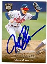 Autograph Warehouse 75606 Jeff Blauser Autographed Baseball Card Atlanta Braves 1995 Upper Deck No .44 Electric Diamond