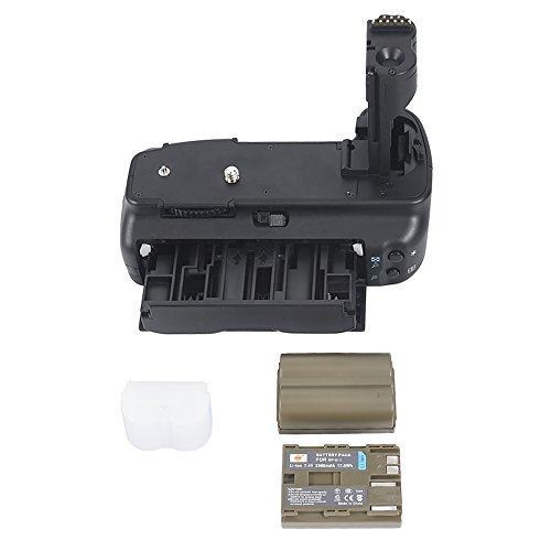 DSTE Multi-Poder Vertical Batería Apretón Titular para Canon EOS 20D 30D 40D 50D DSLR Cámara Fotográfica como BG-E2N con 2-pack BP-511