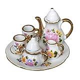 Healifty Accesorios de casa de muñecas artículos de té en Miniatura Accesorios de Cocina Decoraciones de casa de muñecas en Miniatura