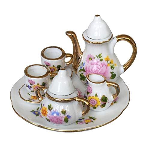 Healifty Accessoires de Maison de poupée thé Miniature...