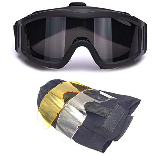 Sidougeri Paintball Airsoft Ballistic Sicherheitsbrille Outdoor Winddicht Motorrad Radfahren Brille Military Wargame Brille