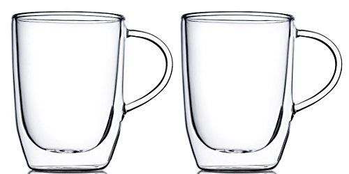 Home Fashions 10 oz. Double Wall Insulated Glasses (Pack of 2)