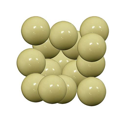 Arcam Bola futbolin Resina Color Blanco Brillo 35g 34mm 15 unid