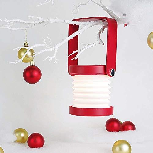 Damai Lampe Lanterne Troisième Vitesse Lampe Lumière LED Lampe De Nuit USB Cadeaux De Noël 3D 20 * 14.5 * 5.7cm