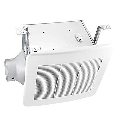 Amazon Basics AB-BV100 Air ventilation fan, 4-inch Outlet, 110 CFM, 10-3/4-Inch Length, White