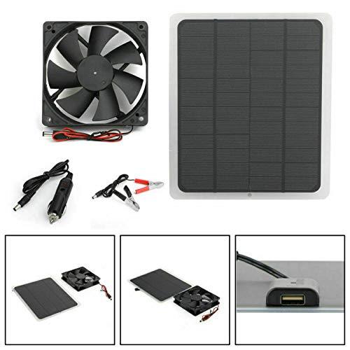 solar powered exhaust fan - 6