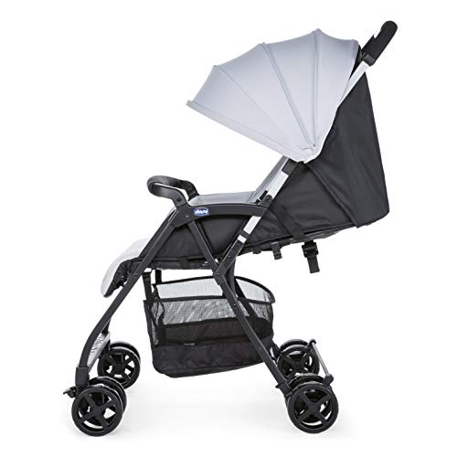 Chicco Ohlala 2 Stroller Silver, Ultra-Lightweight Pushchair