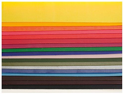 Glorex verzierwachs Set, 20 Stück, bunt, 200 x 40...