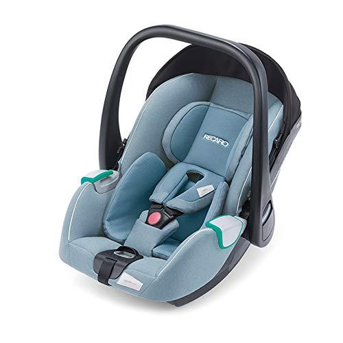 RECARO Kids, Babyschale Avan, i-Size 40-83 cm, Babyschale 0-13 kg, Kompatibel mit der Avan/Kio Base (i-Size), Verwendung mit Kinderwagen, Einfache Installation, Hohe Sicherheit, Prime Frozen Blue