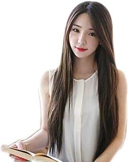 طويل مستقيم باروكة شعر النساء