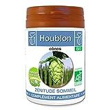 Houblon BIO | 60 gélules | Zénitude Stress Sommeil | 250 mg dosage 100% naturel sans additif et non comprimé | EKI LIBRE