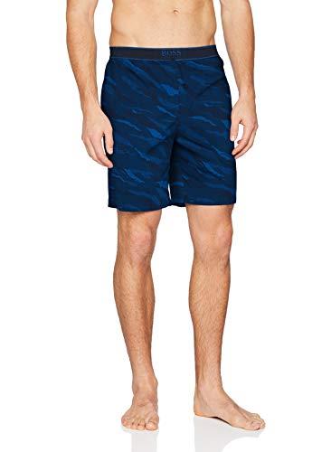 BOSS Herren Urban Shorts Pyjamaunterteil, Dark Blue405, L