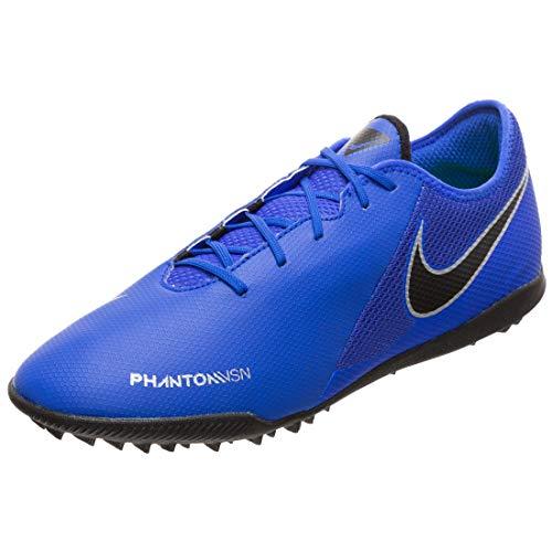 Nike Ao3223, Scarpe da Calcio Uomo, Blu Racer Blue Black Metallic Silv 400, 40.5 EU
