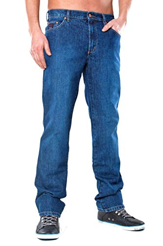 Revils Jeans Hose 302 Classic Stretch, V-24/2, Indigo Stone Washed (W52/L30)