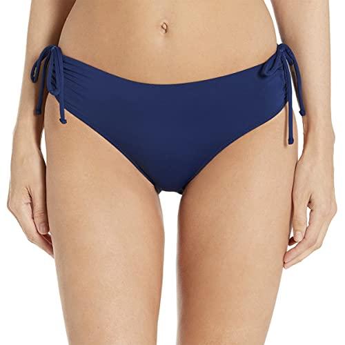 Kanu Surf Women's Bikini Swimsuit Bottoms, Navy Mid-Rise, 14
