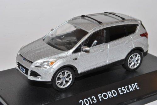 Greenlight Ford Kuga II Escape Silber Ab 2012 1/43 Modell Auto mit individiuellem Wunschkennzeichen