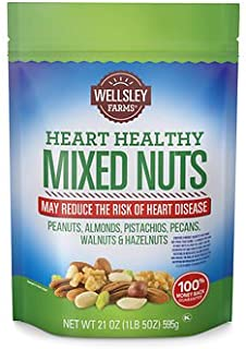 Wellsley Farms Heart Healthy Mixed Nuts, 21 oz. SA