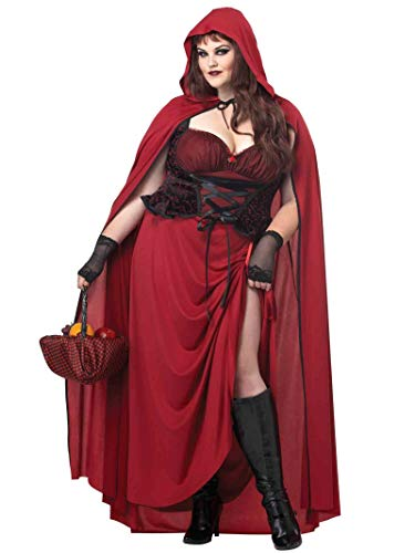 California Costumes Costume adulte pour femme - Rouge - Rouge - XXL