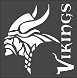 Stencil Viking Head Design Paint Airbrushing