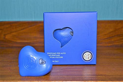 HYPNO CASA Profumo per Auto CUORICINO Inter Original Colore Blu Made in Italy