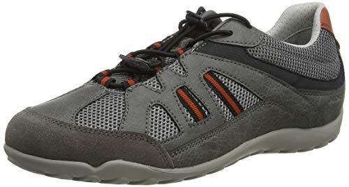 Geox Mens U AKATE A Sneaker, Grey,44 EU