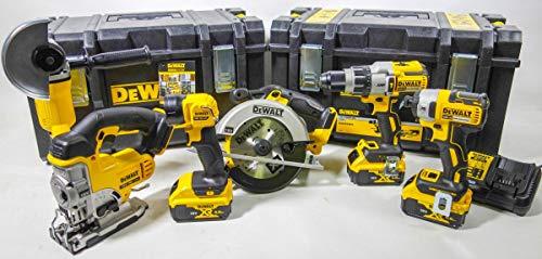 Dewalt DCK694P3 18V 12 tlg. Akku Multi-Set 3 Akku x 5,0Ah Li-Ion incl. Koffer