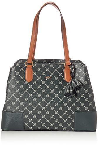 Joop! Shopper Cortina Andrea aus Kunststoff Damen Handtasche mit Reißverschluss
