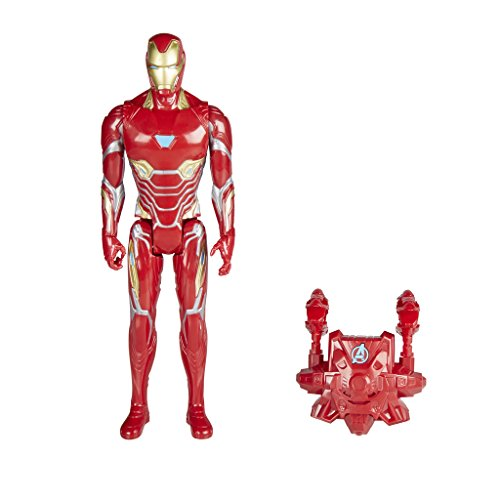 Marvel- Titan y Mochila Power Fx Iron Man (Hasbro E0606105)