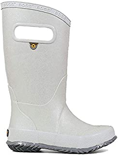 Kids Footwear Bundle: Bogs Kids' Rain Boot Glitter & Wiping Towel