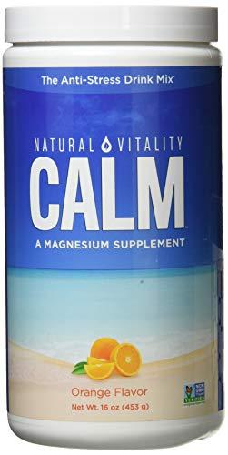 Natural Vitality Natural Calm, Orange, 16 Oz