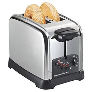 Hamilton Beach Classic Chrome 2 Slice Toaster (22790)
