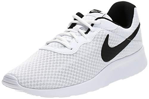 Nike Tanjun, Zapatillas de Correr Hombre, Blanco (White/Black), 41 EU