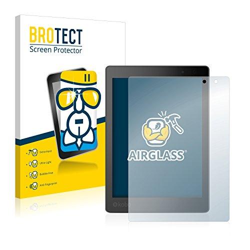 brotect Pellicola Protettiva Vetro Compatibile con Kobo Aura One Schermo Protezione, Estrema Durezza 9H, Anti-Impronte, AirGlass