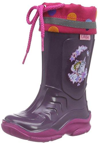 Prinzessin Lillifee Mädchen 130080 Gummistiefel, Violett (Viola), 34 EU