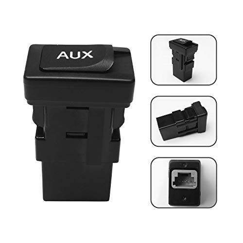 Monrand Aux Port Input, Car Repair Part Auxiliary Audio Adapter for 2005-2012 Toyota Camry Aux Jack Kit, 2010 Lexus ES350 Base Sedan, Radio Port Adapter Replace OE 86190-06010, 86190-53010