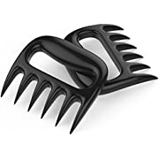 Tovantoe claws9353 Advantages Perfect Party and Kitchen. BBQ Pulled Pork Barbecue Shredder Bear Claws Meat Handler Carving Forks Set of 2, Size2