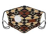 Navajo Aztec Textile Mundschutz Anti-Staub Waschbar Wiederverwendbarer Modedesign Gesichtsschutz