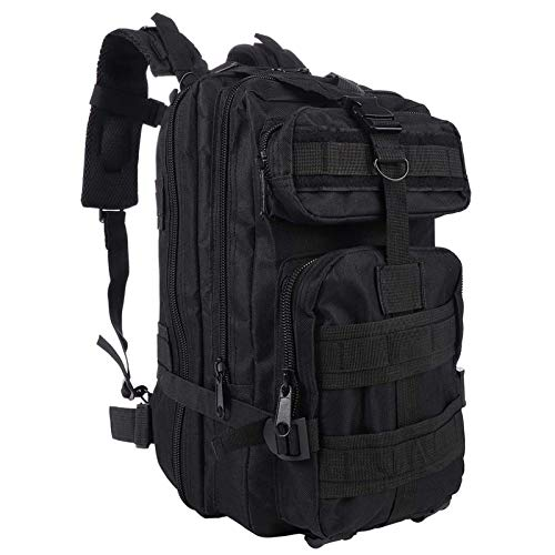 G&X Tactical Backpack, Military Backpack 25L Army Rucksack MOLLE Assault Pack Tactical Combat Backpack for Outdoor Hiking Camping Trekking Fishing Hunting