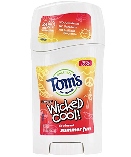 Toms of Maine Wicked Cool Kids Deodorant (Summer Fun)