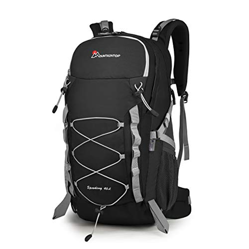 Mountaintop 40 Liter Hiking Backpack/Camping Backpck/Travel Daypack for Outdoor Climbing