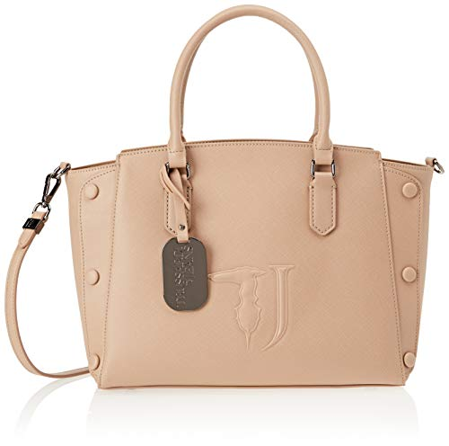 Trussardi Jeans Melissa Tote Medium Bag Ecolea, Borsa Donna, Beige...