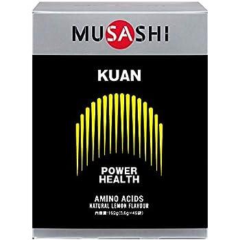 MUSASHI KUAN スティック 3.6g×45本入 パワーアップ ムサシ クアン 45袋
