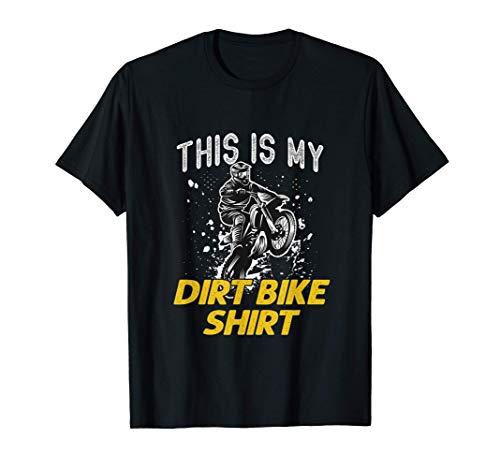 Regalo de motocross para niños esta es mi moto de cross Camiseta