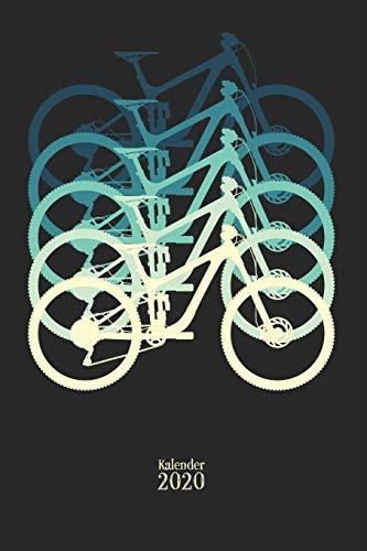Kalender 2020: Mountainbike Kalender 2020 Wochenplaner 2020 Organizer Terminplaner Terminkalender I Mountainbike Geschenk für Radfahrer Mountainbiker ... I A5 Softcover mit 110 Seiten