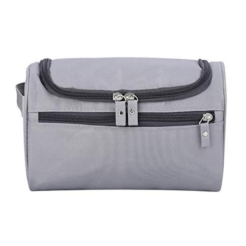Jeanoko Bolsa de almacenamiento duradera reutilizable para mujer de nailon (gris)