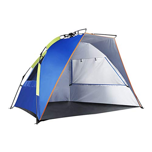 Camping Tents Quick Put Up Tent Outdoor Shade Full Automatic Speed Open Beach Tent Lakeside Fishing Tent Awning(235 * 120 * 120Cm)