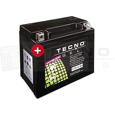 Tecno Gel Motorrad Batterie Ytx12 Bs 12v Gel Batterie 12ah Din 51012 151x87x130 Mm Inkl Pfand Auto